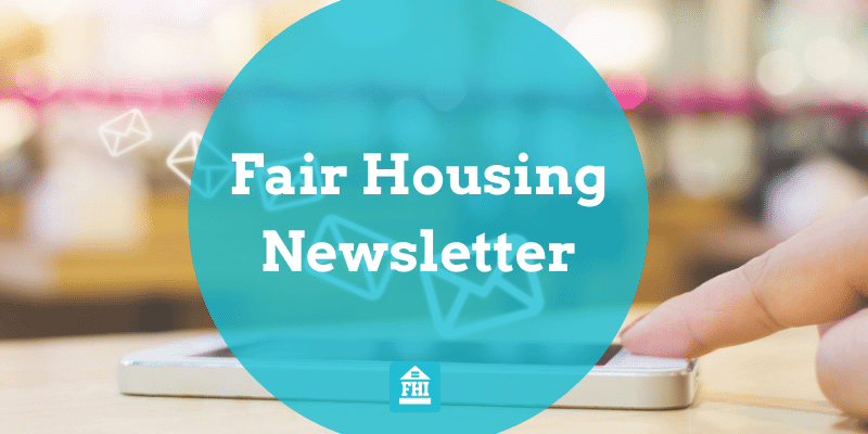 The MOST RELEVANT email for Fair Housing News