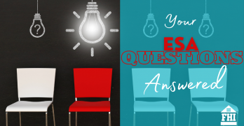 Your ESA Questions Answered